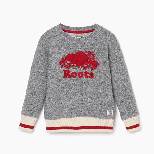 Roots-Kids Our Favourite New Arrivals-Toddler Roots Cabin Cozy Sweatshirt-Salt & Pepper-A