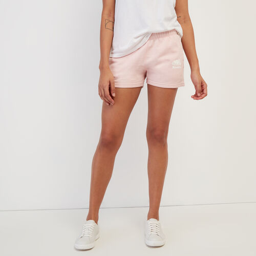 Roots-Women New Arrivals-Original Sweatshort-Silver Pink Pepper-A