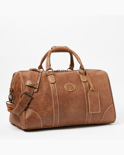 Roots-Men Weekender Bags-Small Banff Bag Tribe-Natural-A