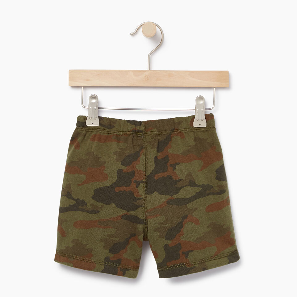 Roots-Kids New Arrivals-Toddler Camo Short-Winter Moss Green-B