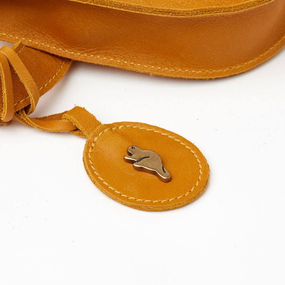 Roots-Leather Our Favourite New Arrivals-Lambert Belt Pack-Squash Yellow-D