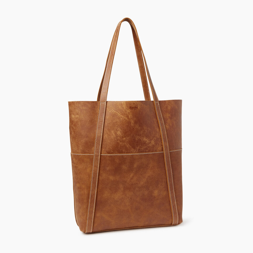 Roots-Leather Our Favourite New Arrivals-Trans Canada Tote-Natural-C