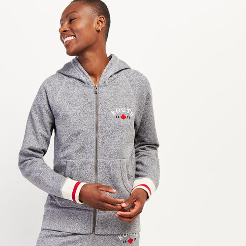 Roots-New For October The Roots Cabin Collection™-Cabin Full Zip Hoody-Salt & Pepper-A