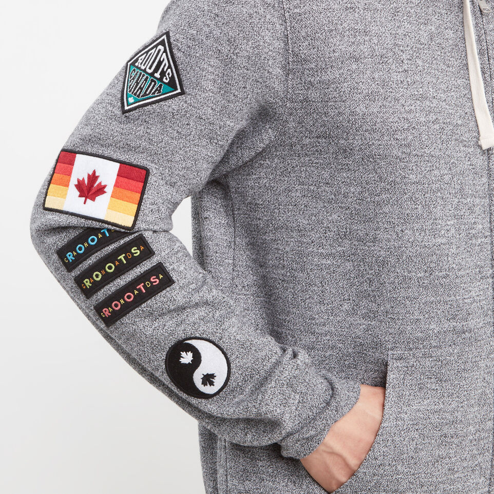 Roots-undefined-Patches Full Zip Hoody-undefined-E