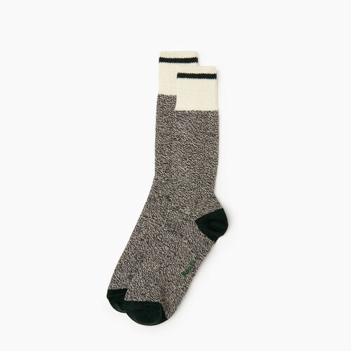 Roots-Men Our Favourite New Arrivals-Mens Roots Pop Cabin Sock 2 pack-Park Green-A