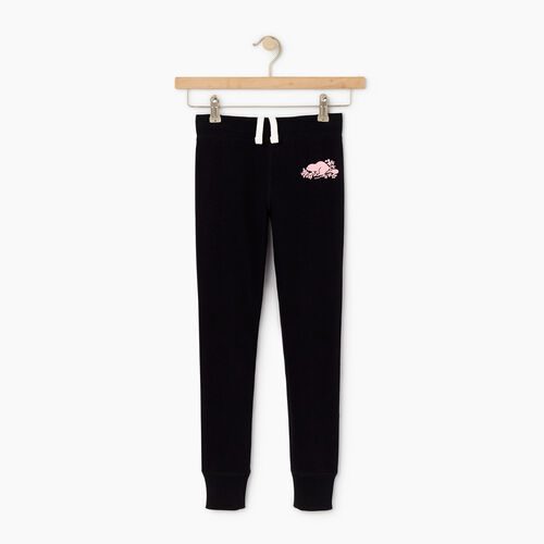 Roots-Kids Our Favourite New Arrivals-Girls Cozy Fleece Sweatpant-Black-A