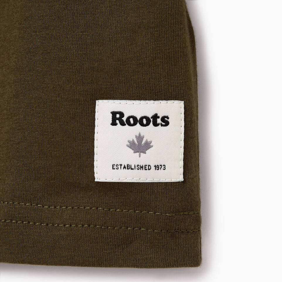 Roots-undefined-Boys Roots Classic T-shirt-undefined-E
