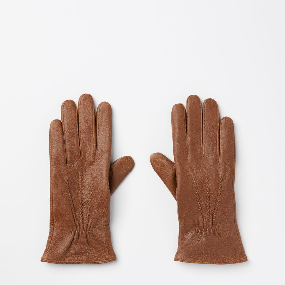 Roots-undefined-Womens Deerskin Glove-undefined-A