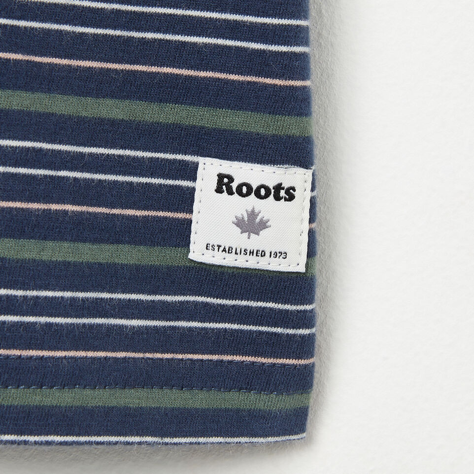 Roots-undefined-Baby Striped Ringer Top-undefined-D