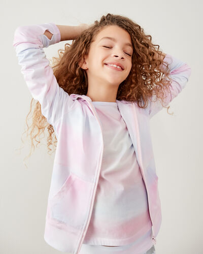 Roots-Sweats Girls-Girls Lola Active Full Zip Hoody-Multi-A