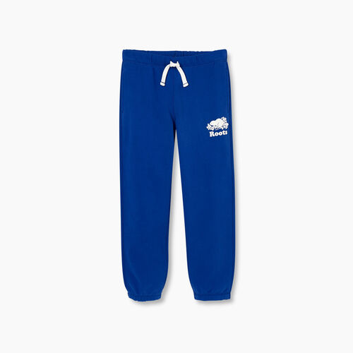 Roots-Kids Bottoms-Boys Original Sweatpant-Mazarine Blue-A