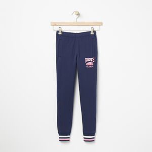 Roots-Kids Girls-Girls RBC Slim Sweatpant-Cascade Blue-A