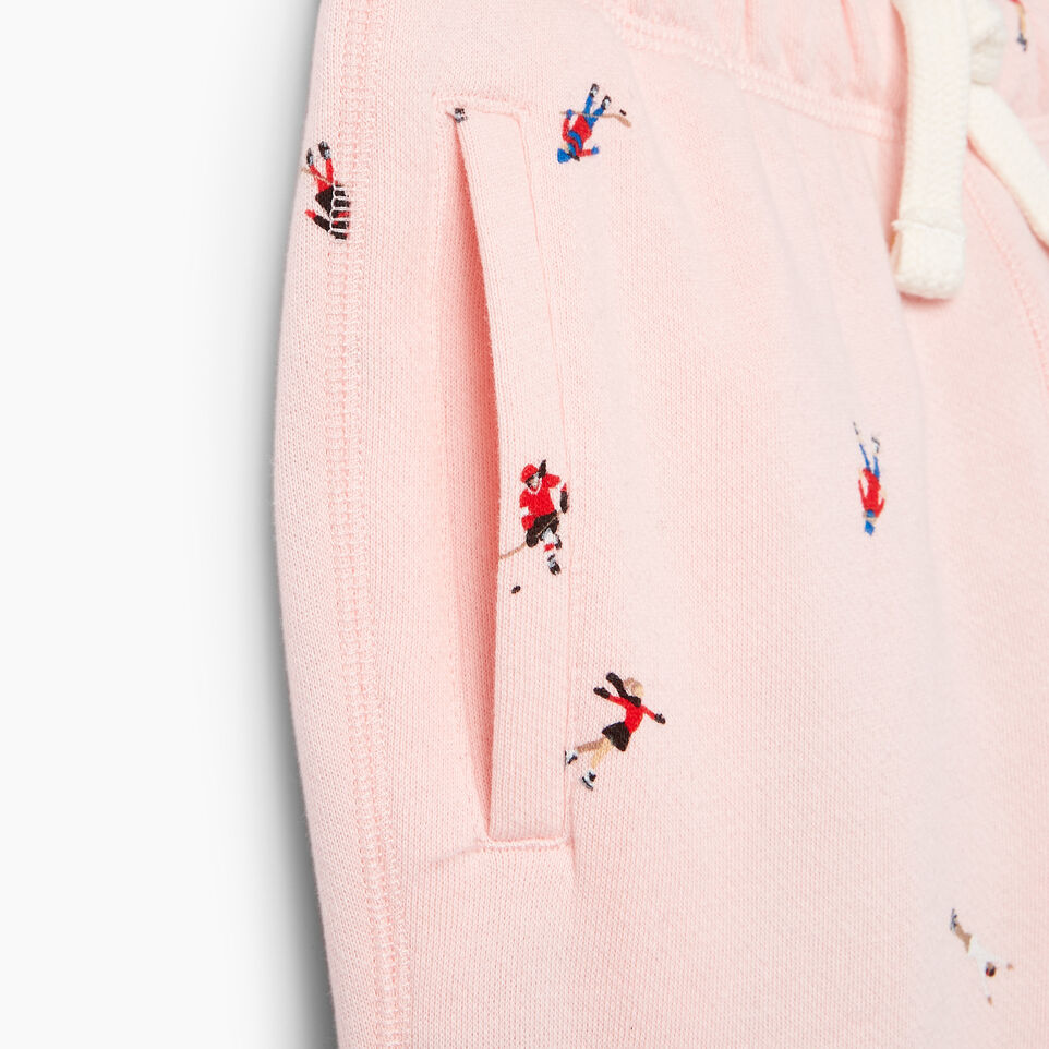 Roots-Kids Our Favourite New Arrivals-Girls Skater AOP Sweatpant-Light Pink-E