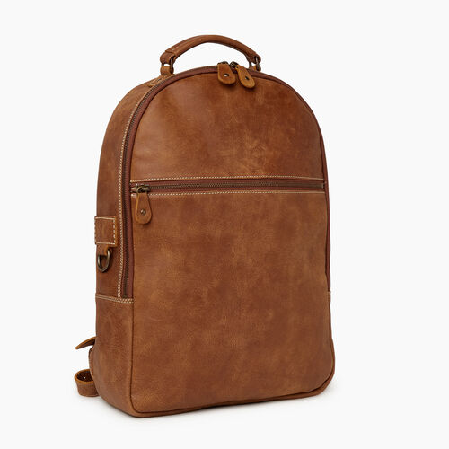 Roots-Men Backpacks-Go Pack Tribe-Natural-A