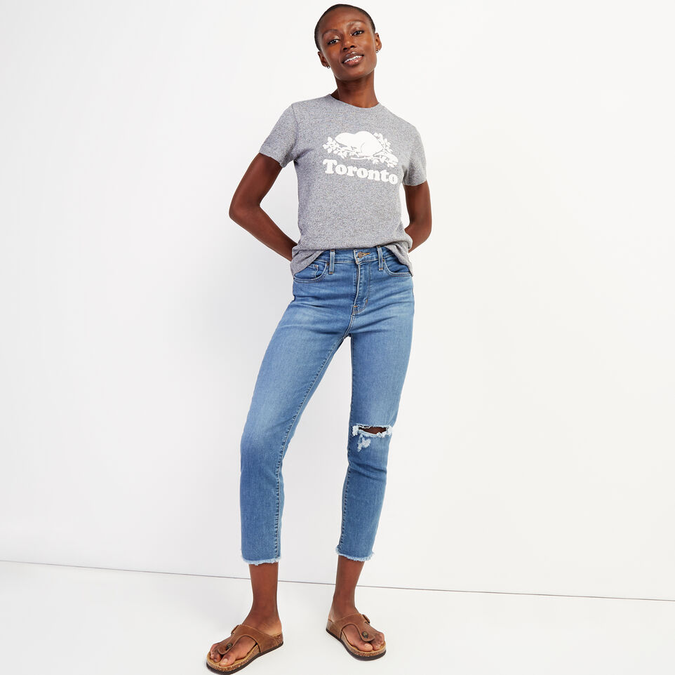 Roots-undefined-Women's Toronto T-Shirt-undefined-B