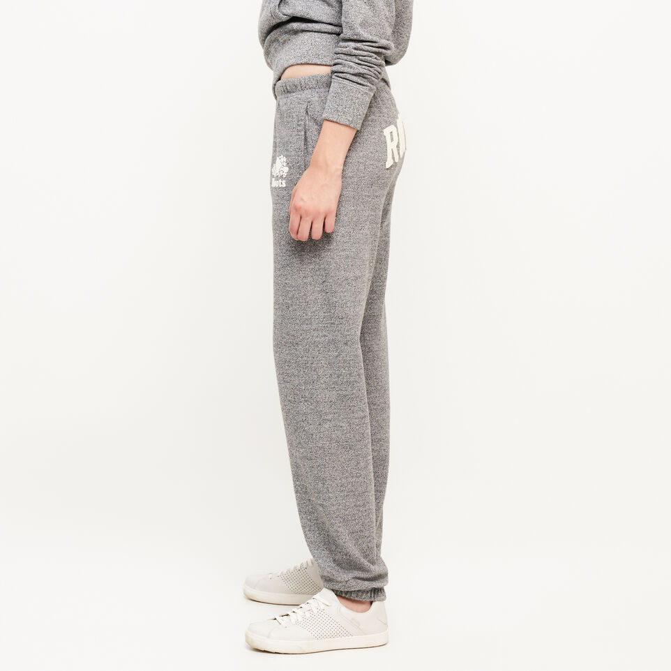 Roots-undefined-Pantalon en coton ouaté original Roots Salt and Pepper-undefined-D