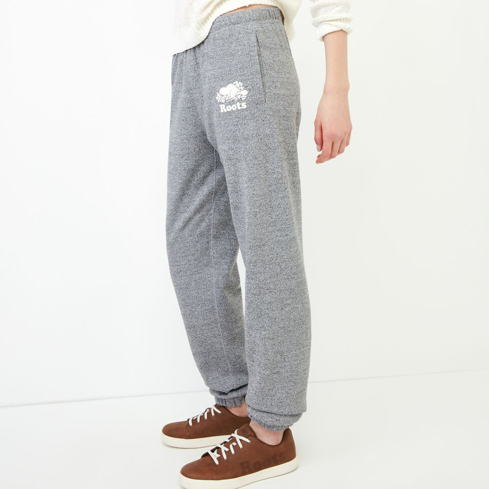 Roots-undefined-Roots Salt and Pepper Original Boyfriend Sweatpant-undefined-D