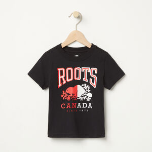 Roots-Kids Toddler Boys-Toddler RBC T-Shirt-Black-A