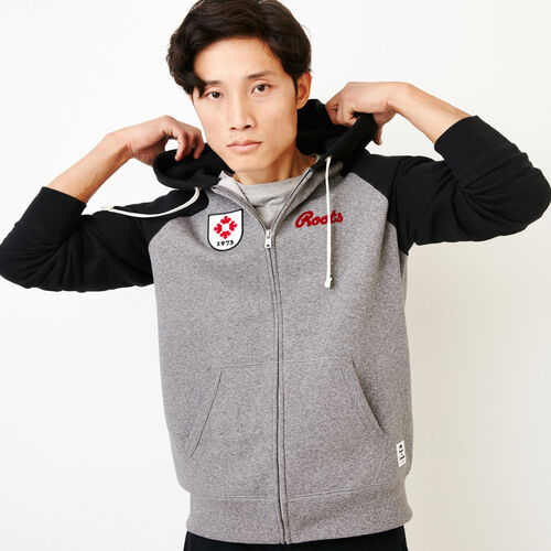 Roots-Men Canada Collection By Roots™-Mens Canada Zip Hoody-Grey Mix Pepper-A