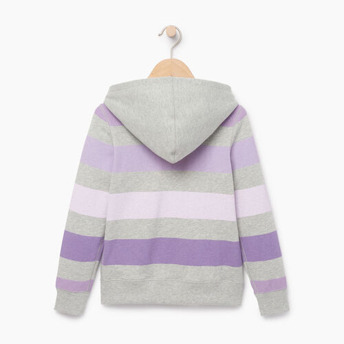 Roots-Kids Our Favourite New Arrivals-Girls Ombre Stripe Full Zip Hoody-Grey Mix-B