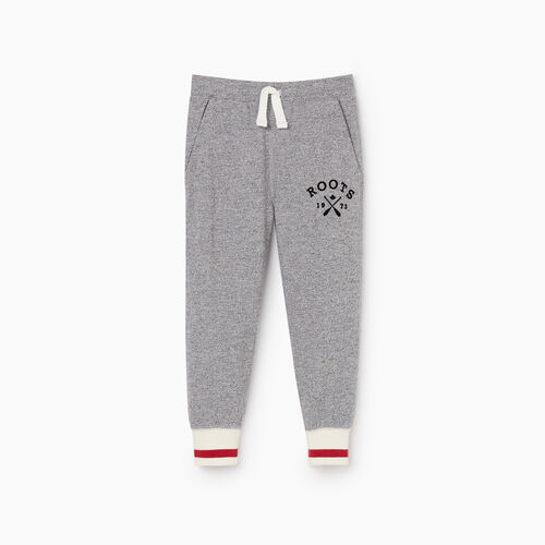 Roots-Kids New Arrivals-Toddler Cabin Park Slim Sweatpant-Light Salt & Pepper-A