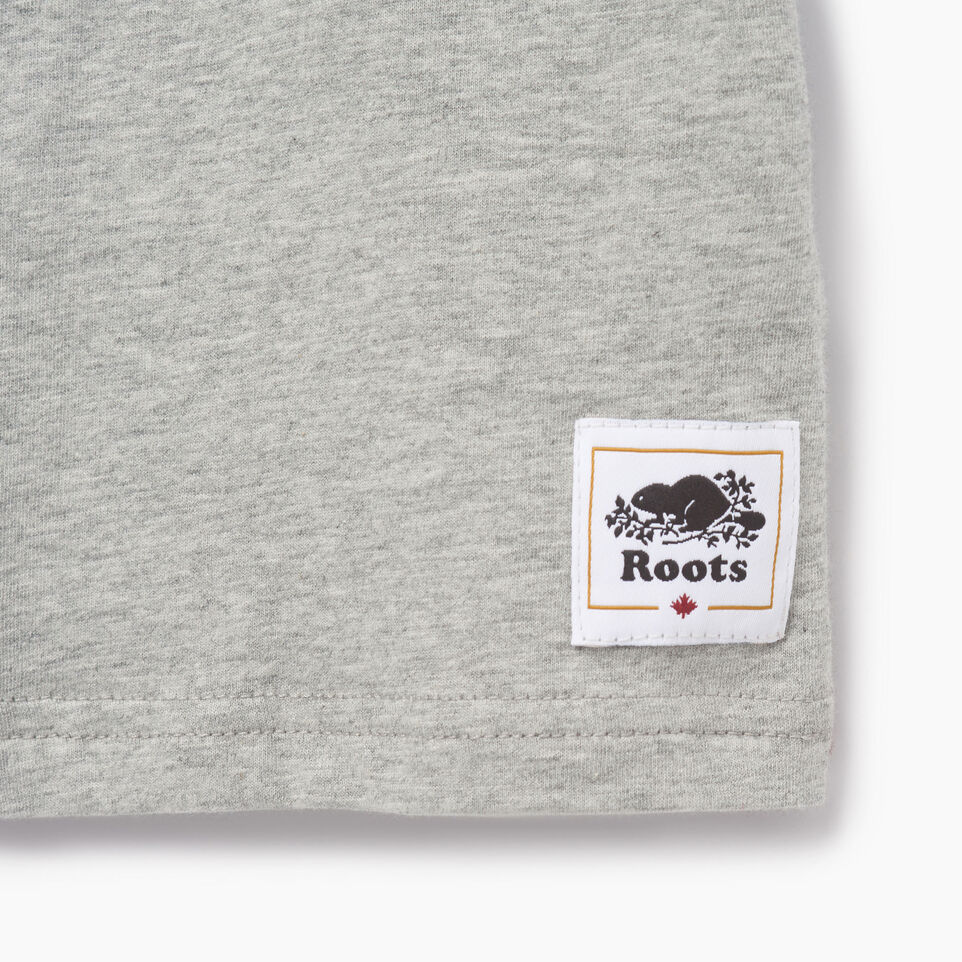 Roots-Kids Our Favourite New Arrivals-Boys Canadian Boy T-shirt-Grey Mix-C