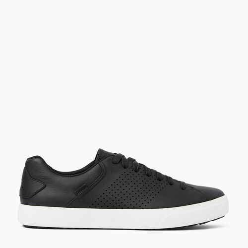 Roots-Women Footwear-Womens Bellwoods Low Sneaker-Black-A