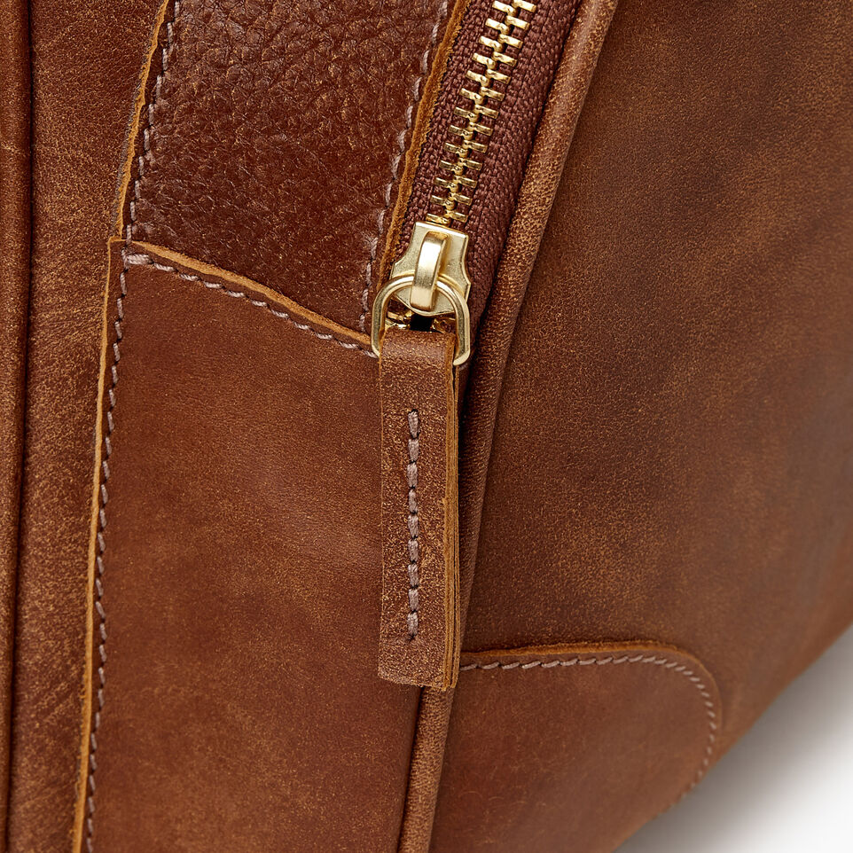 Roots-Leather  Handcrafted By Us Our Favourite New Arrivals-Jasper Backpack-Natural-E