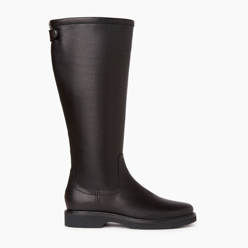 Roots-Women Categories-Womens Riverside Boot-Black-A