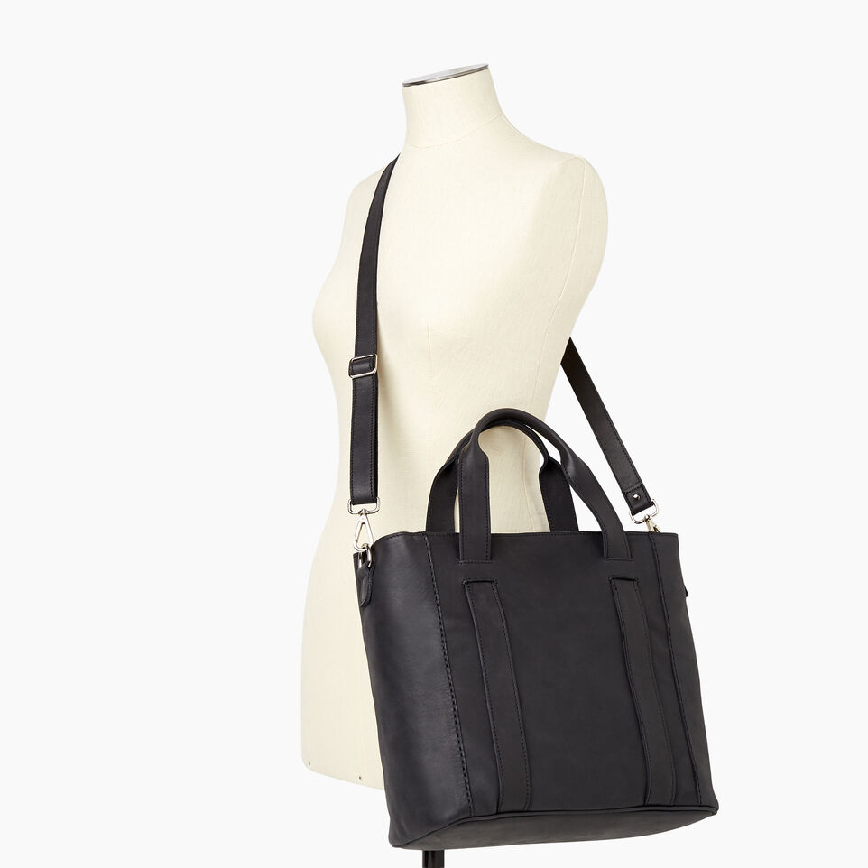 Roots-Women Categories-Victoria Tote-Jet Black-B