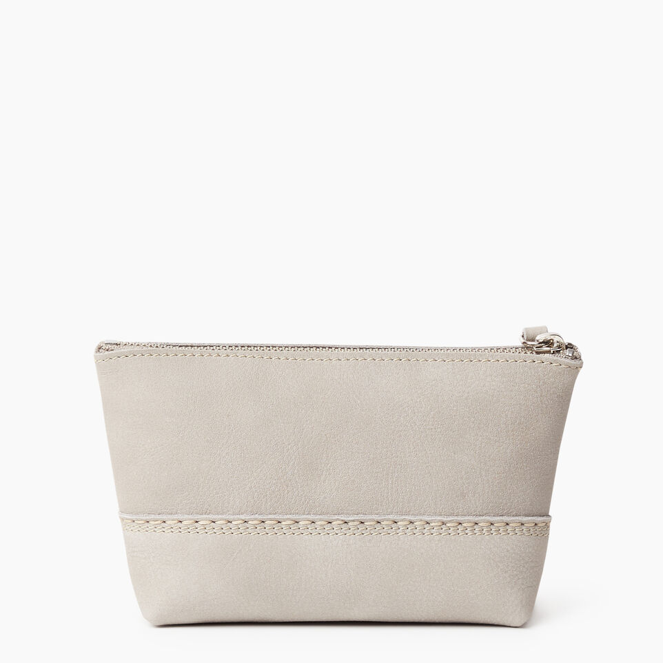 Roots-undefined-Petite pochette Canmore en cuir Tribe-undefined-B