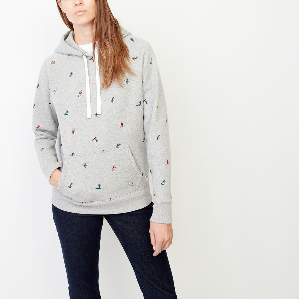 Roots-Women Our Favourite New Arrivals-Skier Boyfriend Hoody-Grey Mix-A