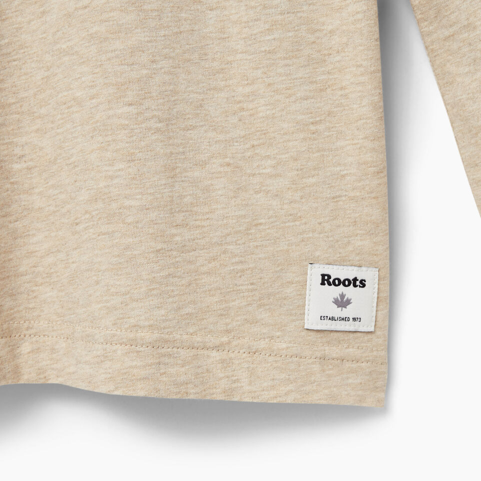 Roots-undefined-Mens Cooper Beaver Long Sleeve T-shirt-undefined-C