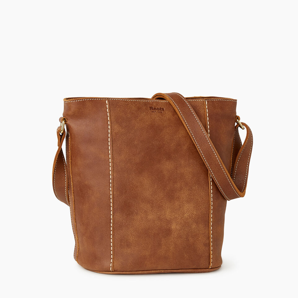 Roots-Leather New Arrivals-Victoria Bucket-Natural-A