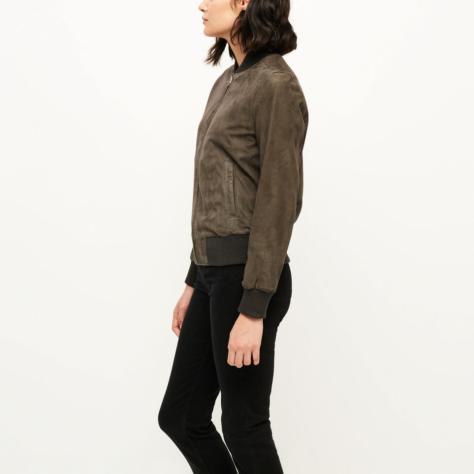 Roots-undefined-Commander Jacket Suede-undefined-C