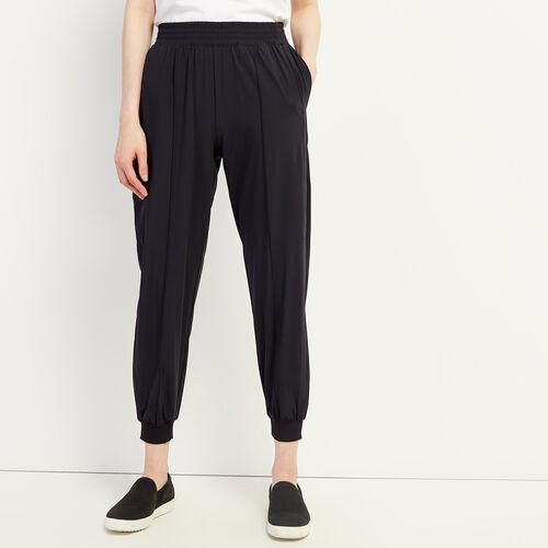 Roots-New For May Comfortwear-Journey Jogger-Black-A