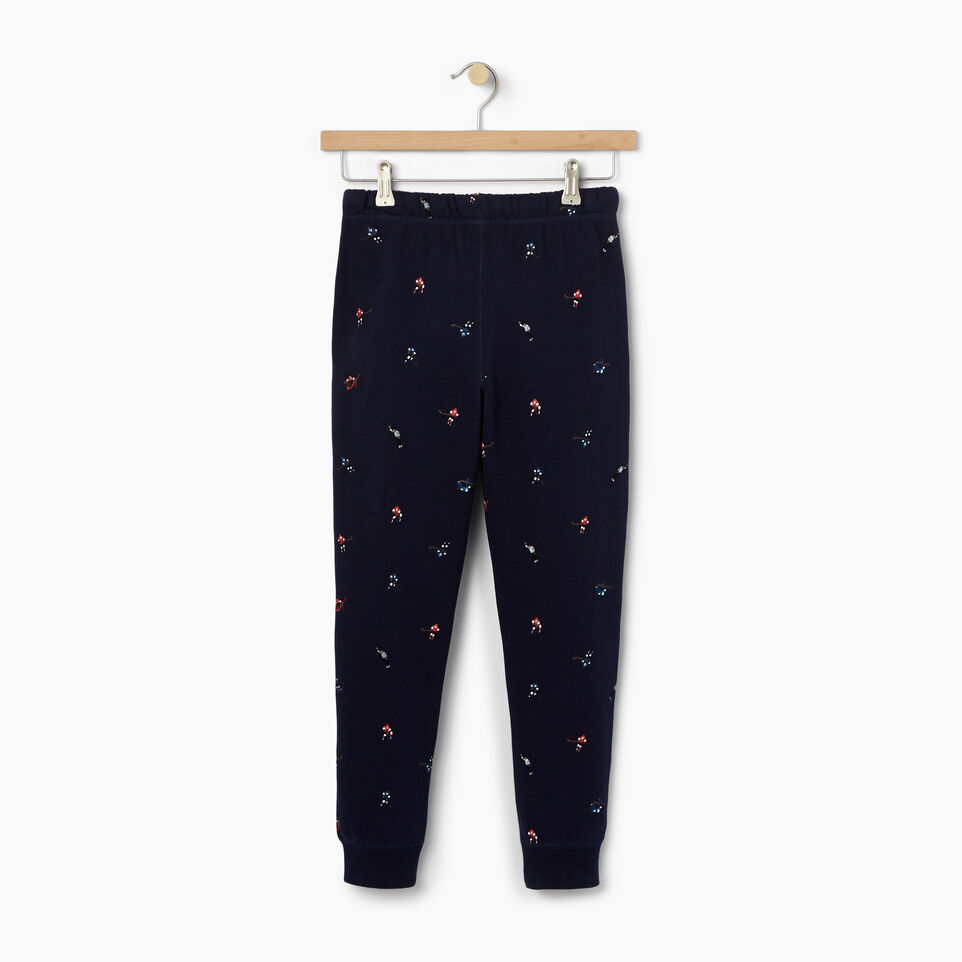 Roots-Kids Our Favourite New Arrivals-Boys Hockey AOP Sweatpant-Cascade Blue-B
