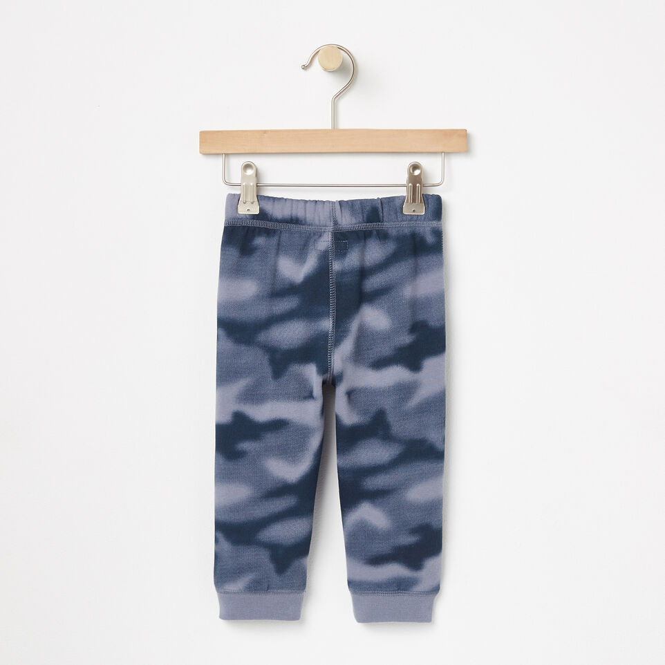 Roots-undefined-Baby Blurred Camo Slim Sweatpant-undefined-B
