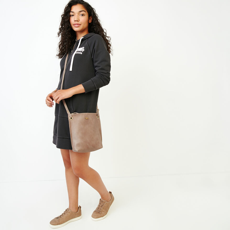 Roots-Women Our Favourite New Arrivals-Garment Dyed Dockside Dress-Charcoal-B