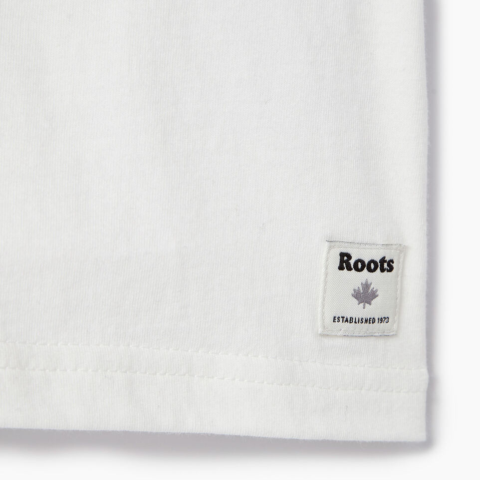 Roots-Kids Our Favourite New Arrivals-Baby Splatter Raglan T-shirt-Ivory-C