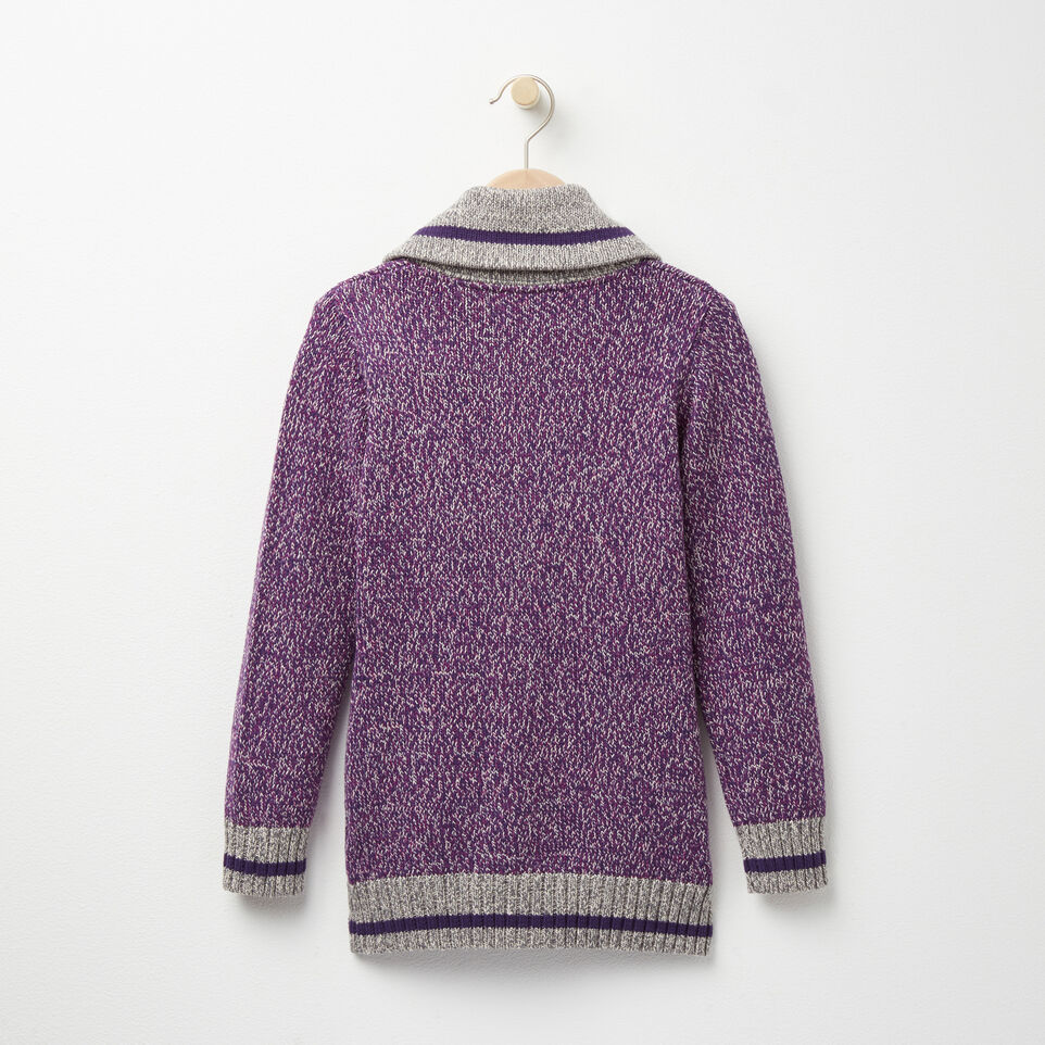 Roots-undefined-Girls Roots Cabin Shawl Cardigan-undefined-B