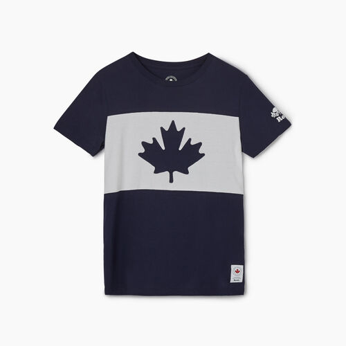 Roots-New For May Canada Collection By Roots™-Womens Blazon T-shirt-Navy Blazer-A