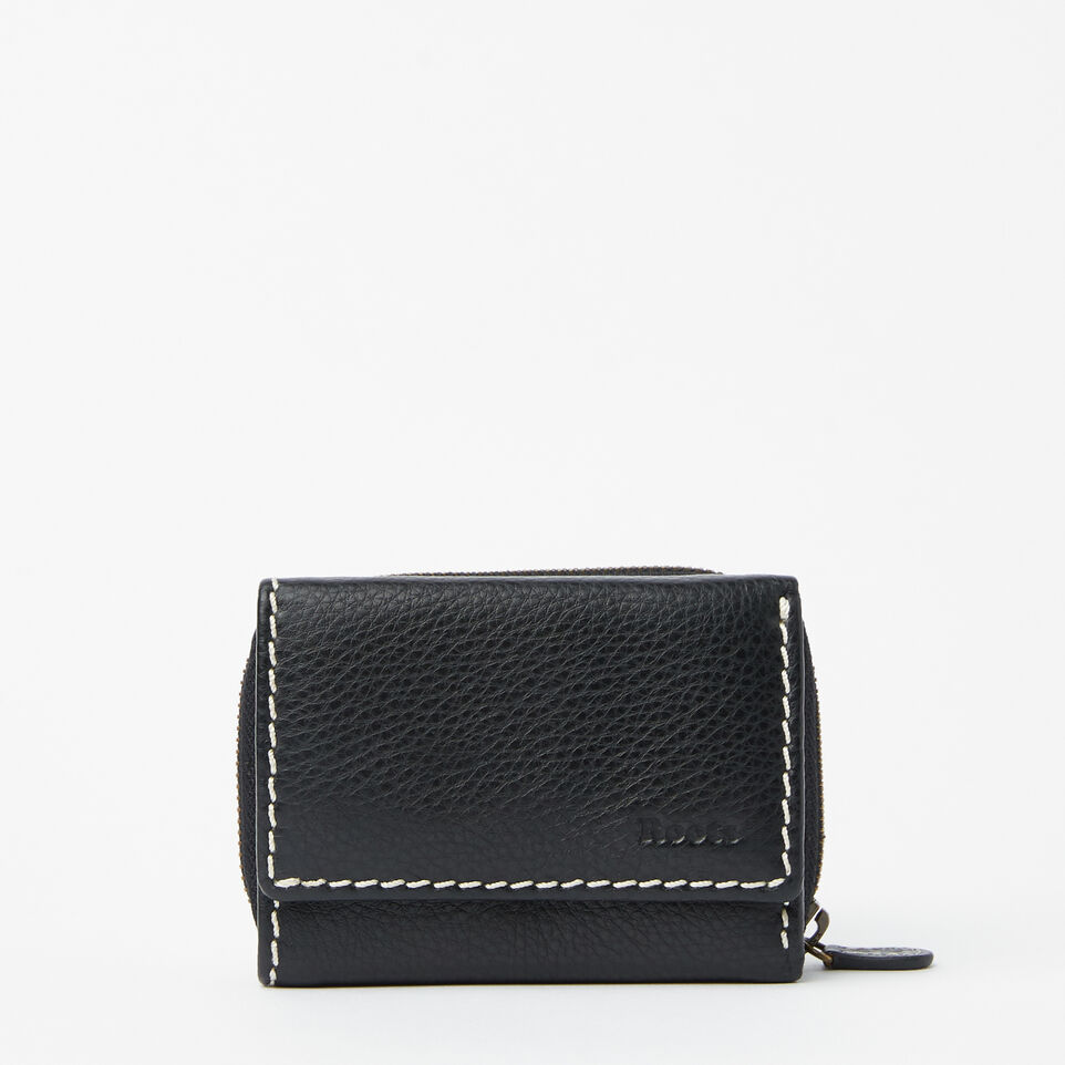 Roots-undefined-Small Trifold Clutch-undefined-A