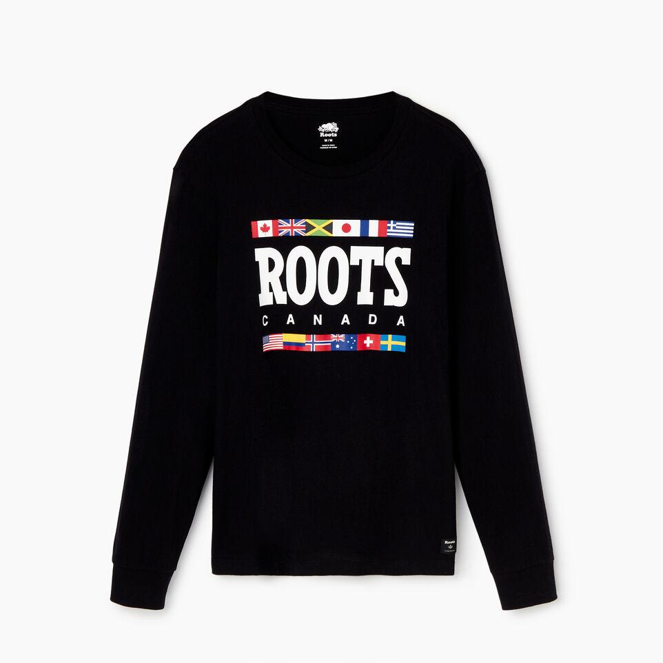 Roots-undefined-Mens Roots Unity T-shirt-undefined-A