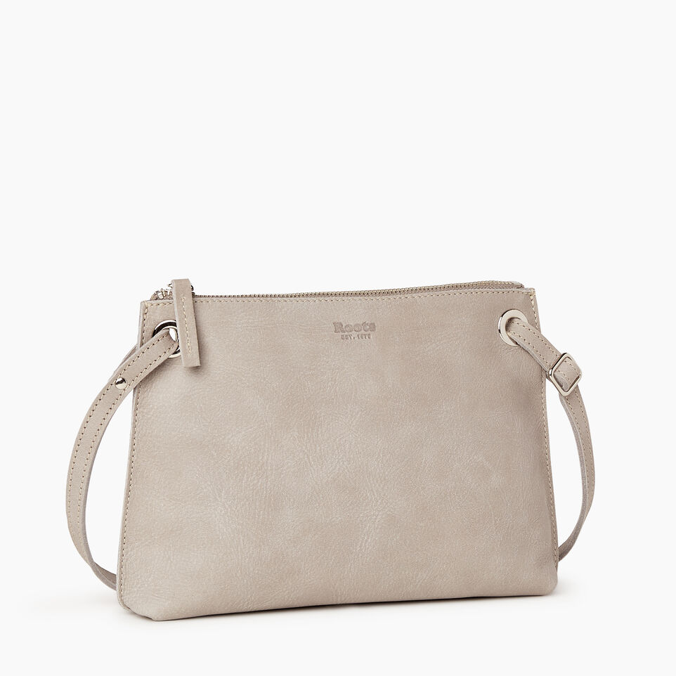Roots-Leather Bestsellers-Edie Bag-Sterling Grey-A
