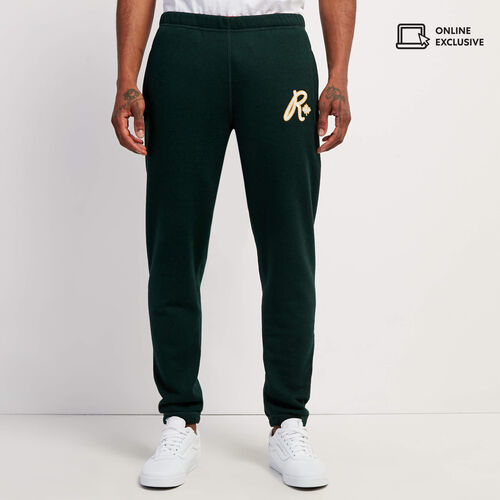 Roots-Men Bottoms-Roots Outdoors Slim Sweatpant-Varsity Green Pepper-A