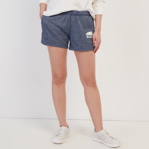 Roots-Women Shorts & Skirts-Original Sweatshort-Navy Blazer Pepper-A