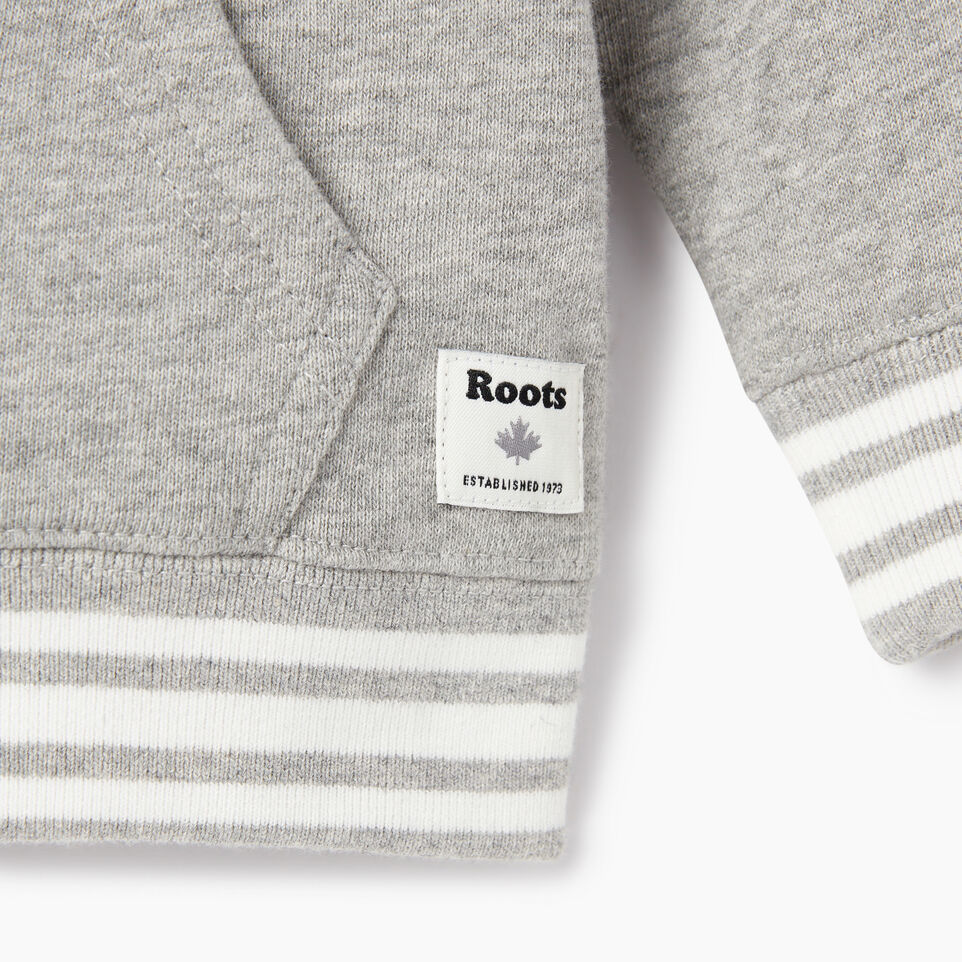 Roots-undefined-Baby Roots Varsity Full Zip Hoody-undefined-D