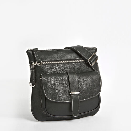 Roots-Winter Sale Leather-Side Saddle Prince-Black-A
