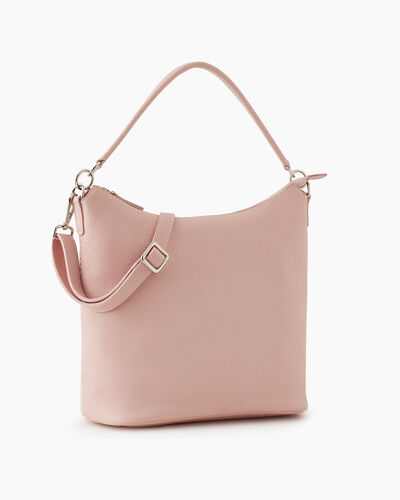Roots-Leather New Arrivals-Ella Bag Cervino-Pink Pearl-A